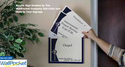 Display Your Notice and Signages with Wallpocket Company